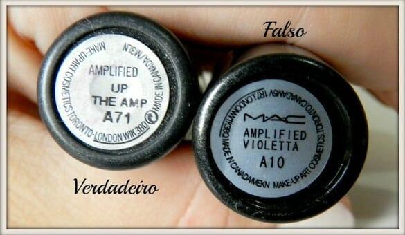 Aprenda a diferenciar réplicas de maquiagens da MAC das originais no Paraguai batom