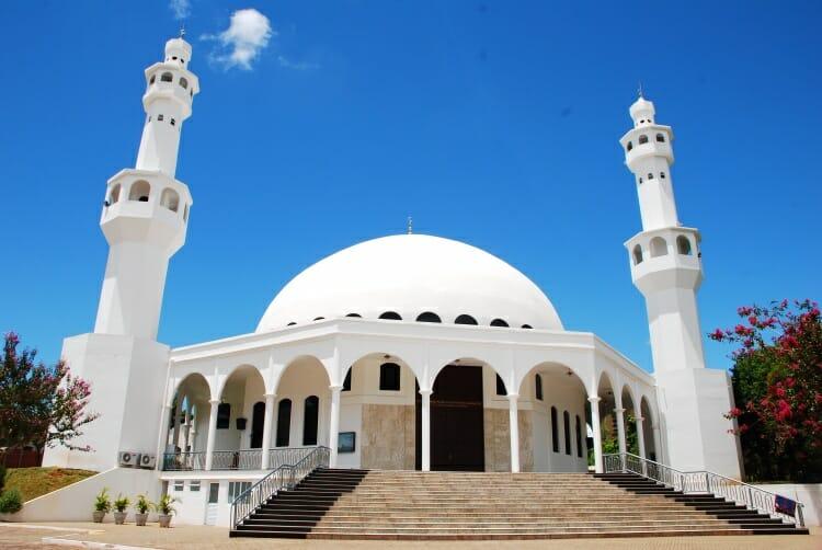 09 dicas do que fazer em Foz do Iguaçu quando chove Mesquita Muçulmana