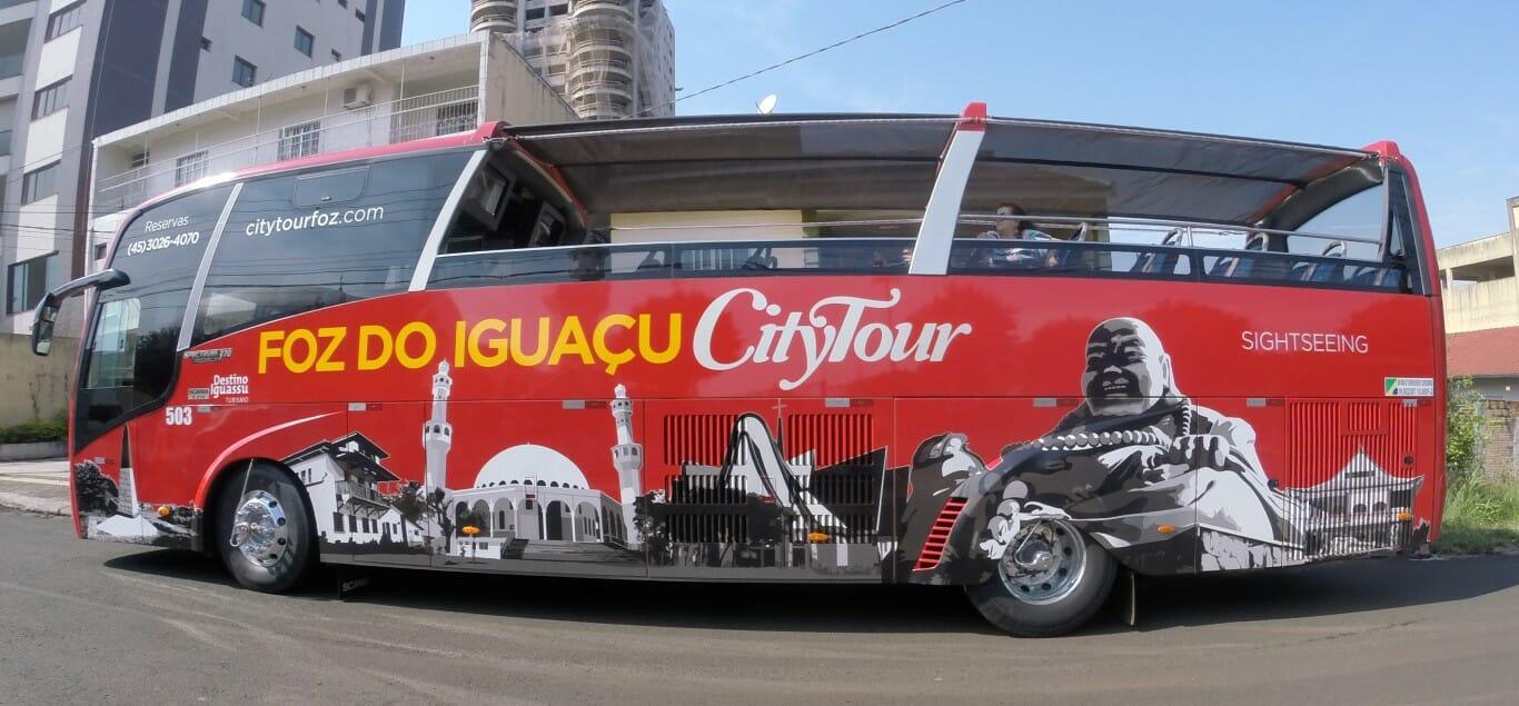 Saiba o que fazer no centro de Foz do Iguaçu com essas dicas city tour onibus