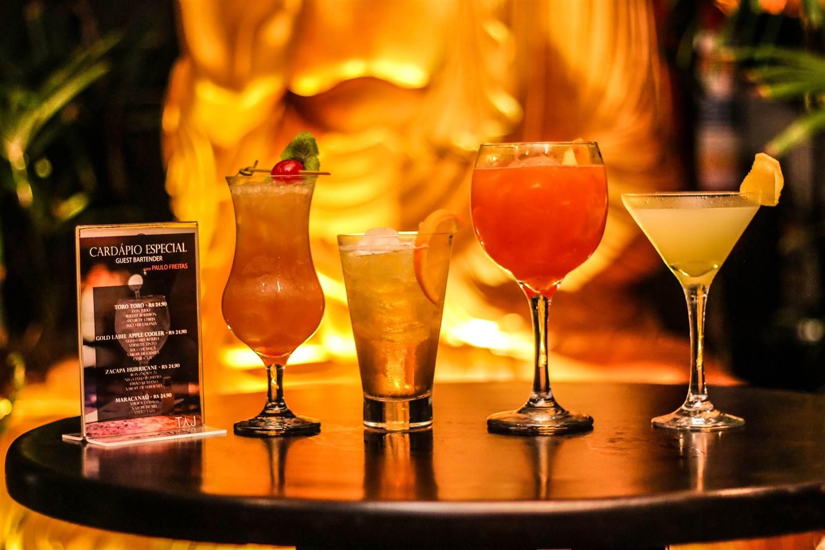 Saiba o porquê o Taj Bar está entre os melhores restaurantes de Foz do Iguaçu drink taj bar