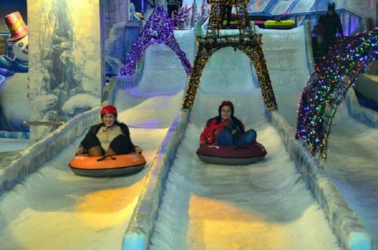 Conheça o Museu 3D, e o Parque de gelo Snow Park, passeios no Shopping Paris Paraguai!