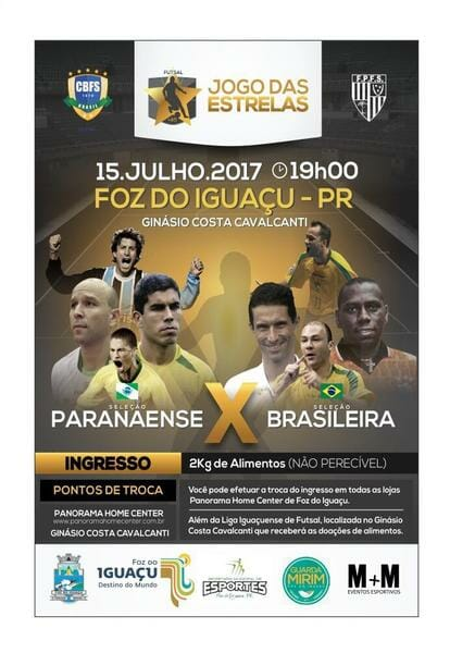 , Jogo das Estrelas em Foz do Iguaçu acontece neste sábado, dia 15!, Passeios em Foz do Iguaçu | Combos em Foz com desconto