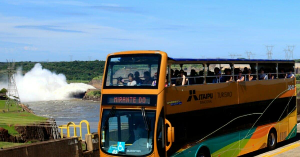 Saiba quais são todos os passeios dentro da Complexo Turístico da Itaipu! panoramica