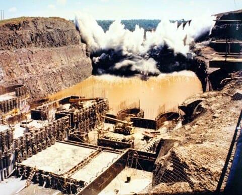 08 fatos históricos sobre a Usina Hidrelétrica de Itaipu construção 2