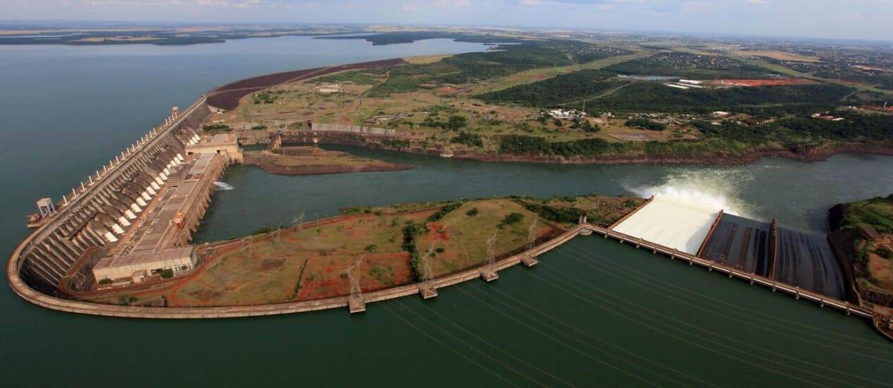 08 fatos históricos sobre a Usina Hidrelétrica de Itaipu construção 3