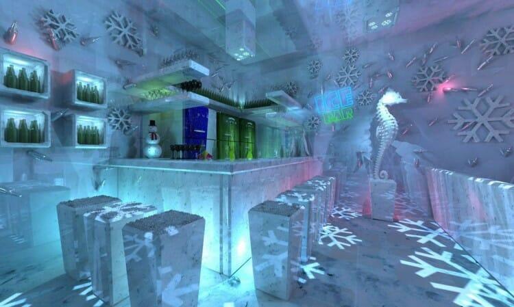 Bar de gelo em Foz do Iguaçu já tem previsão de inauguração.
