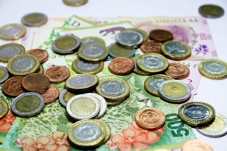 Imagem representando pesos argentinos