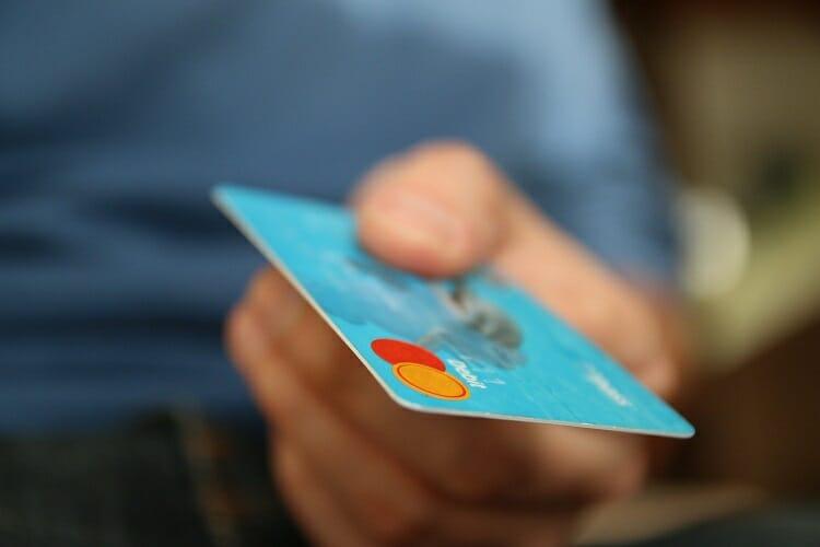 Imagem representando um cartão de crédito