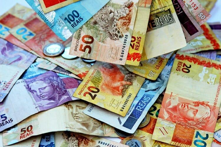 Imagem representando a moeda brasileira
