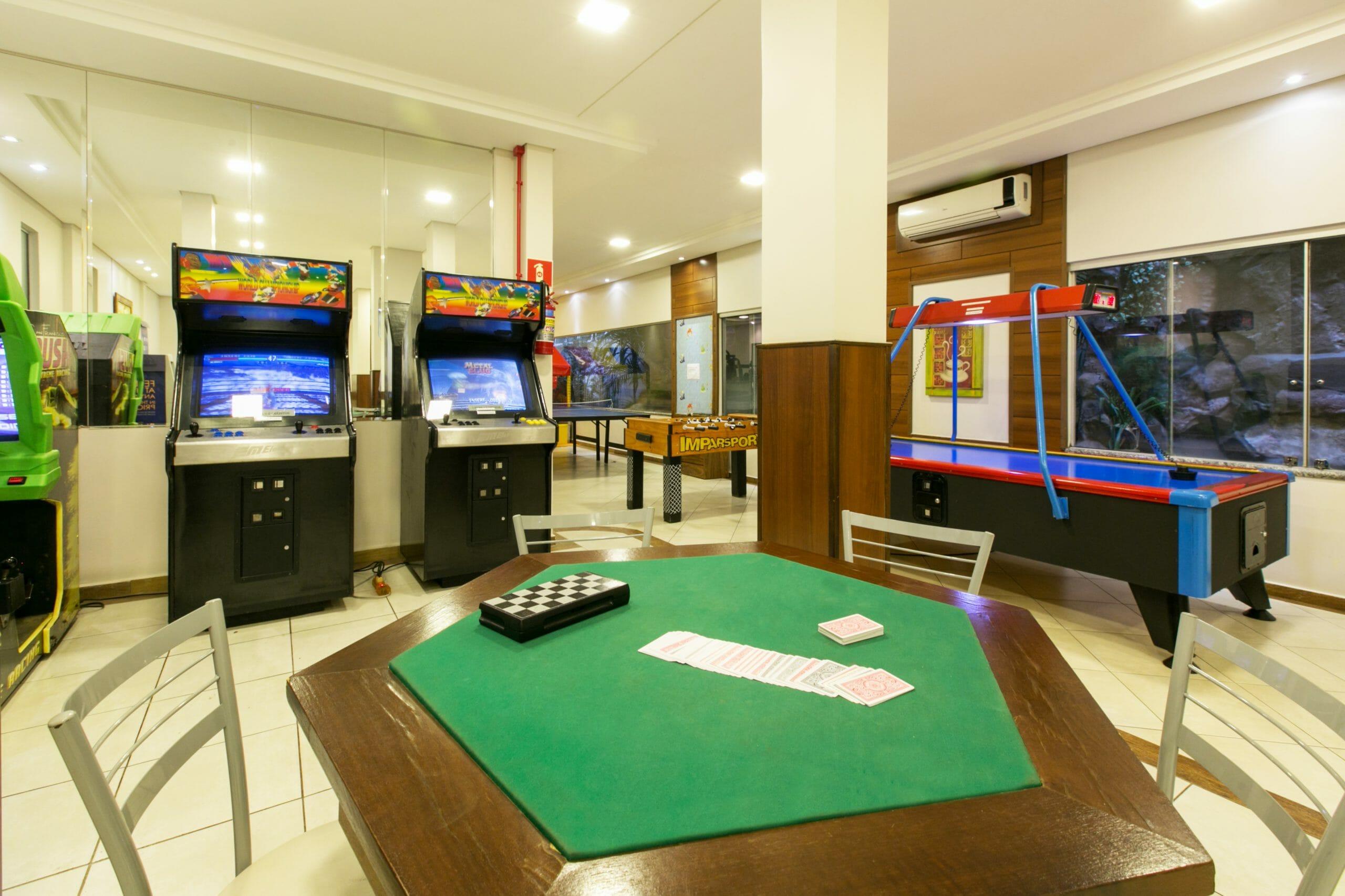 5 Vantagens para quem escolhe se hospedar no Hotel Tarobá em Foz do Iguaçu - Sala de Jogos