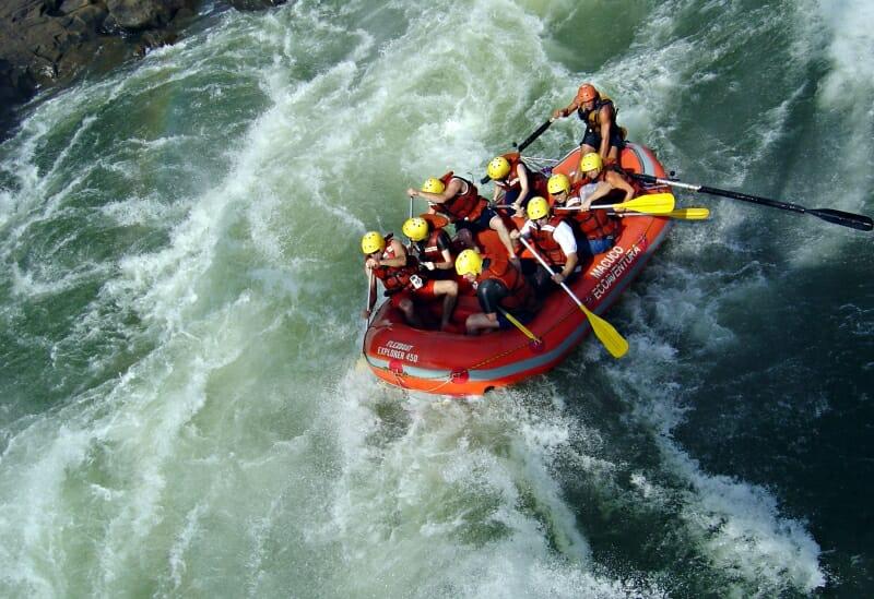 Venha conhecer o Macuco Safári, dentro do Parque Nacional do Iguaçu!! macuco rafting