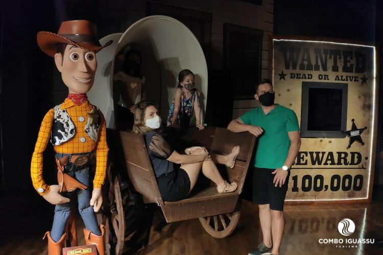 Toy Story no Museu de Cera.