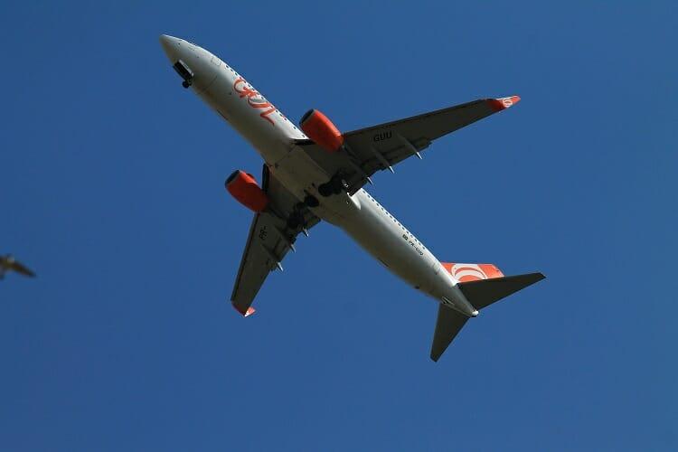 Avião da Gol - Foz do Iguaçu turismo