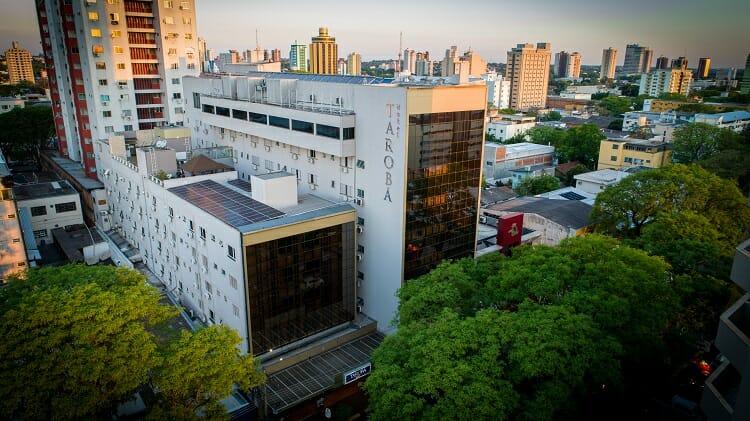 Hotel Tarobá - Fachada - Onde se hospedar em Foz do Iguaçu?