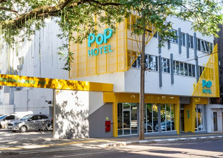 Pop Hotel - Fachada - Onde se hospedar em Foz do Iguaçu?
