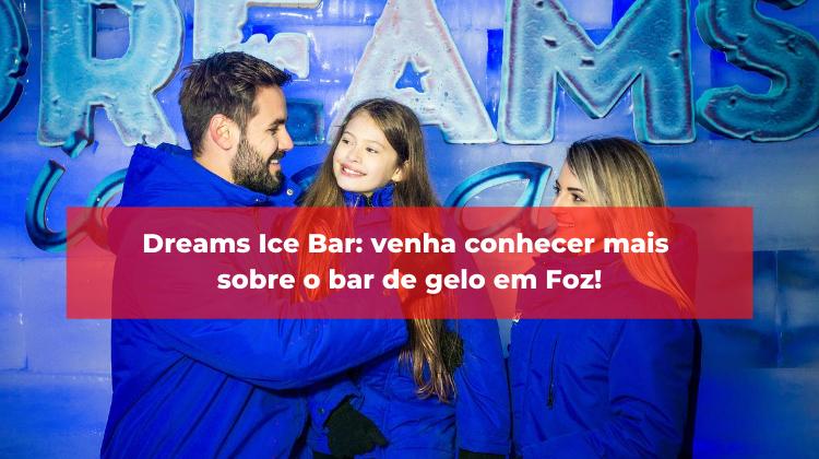Dreams Ice Bar: venha conhecer mais sobre o bar de gelo em Foz!