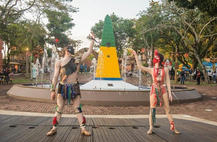 Roteiro Foz do Iguaçu - Marco das 3 Fronteiras