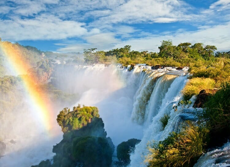 Trilha/ Quedas/ Lado Argentino/ Cataratas