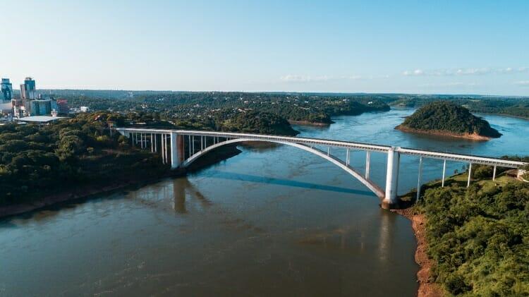 como chegar ao paraguai/ ponte/ amizade/ compras
