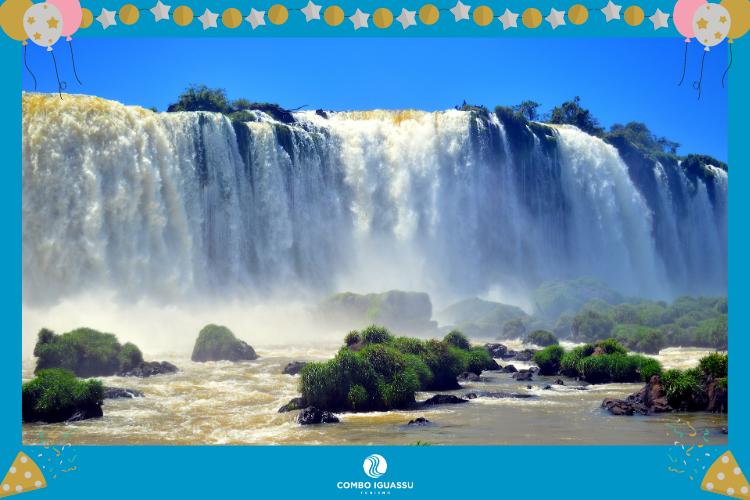 Foz do Iguaçu - Paraná - Cataratas do Iguaçu - lugares para passar o ano novo no Brasil