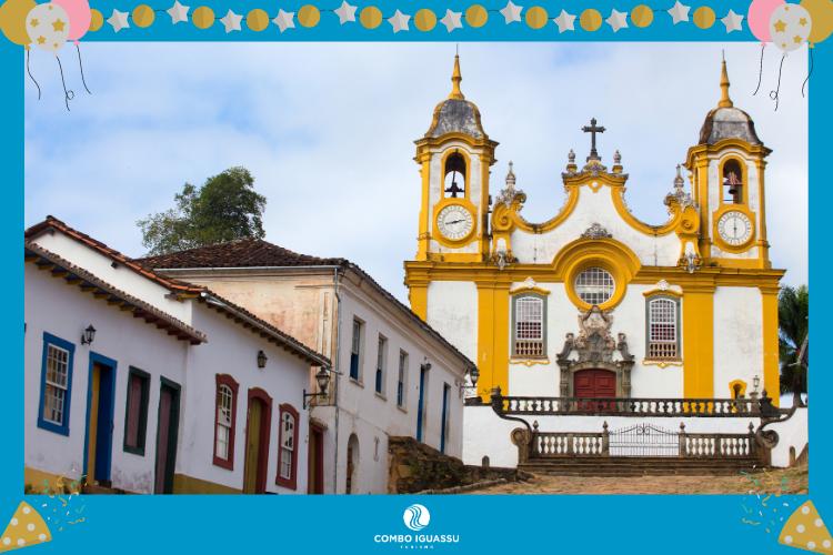 Tiradentes – Minas Gerais - lugares para passar o ano novo no Brasil