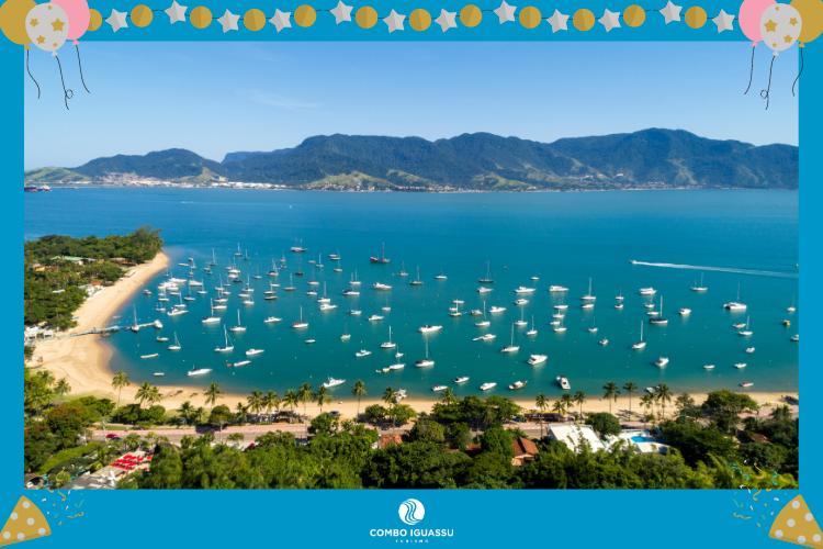Ilhabela – São Paulo - lugares para passar o ano novo no Brasil