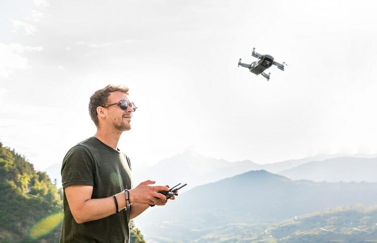 Controle/ Imagens profissionais/ Drone