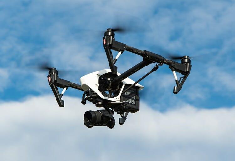 Drones profissionais/ imagens/ imagens aéreas