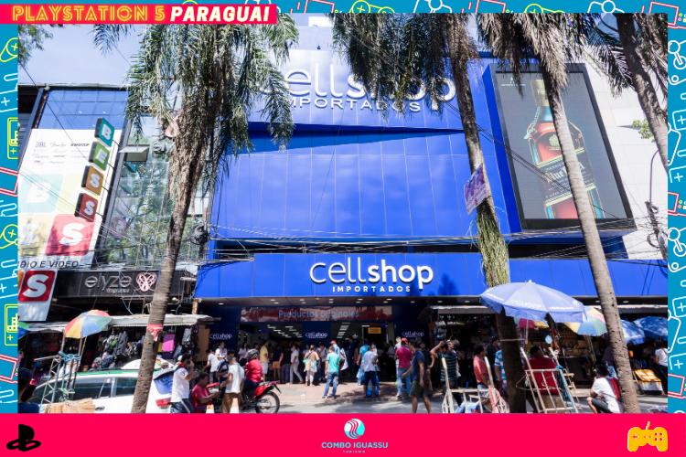 Playstation 5 Paraguai  | CellShop em  CDE