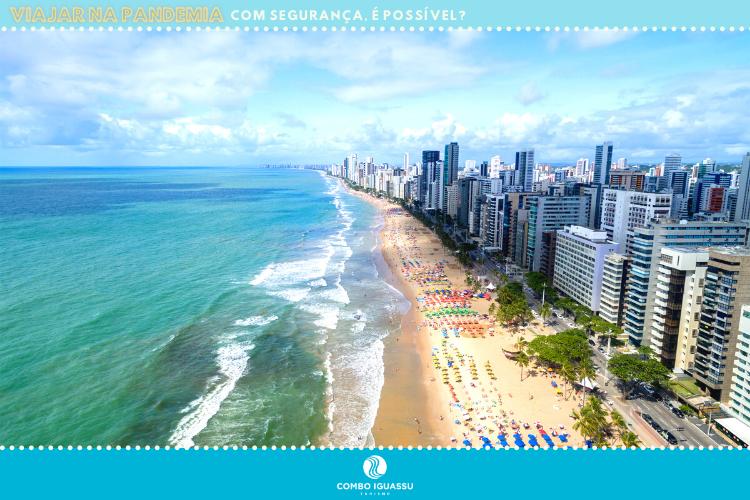 Viajar na pandemia - Praia de Recife