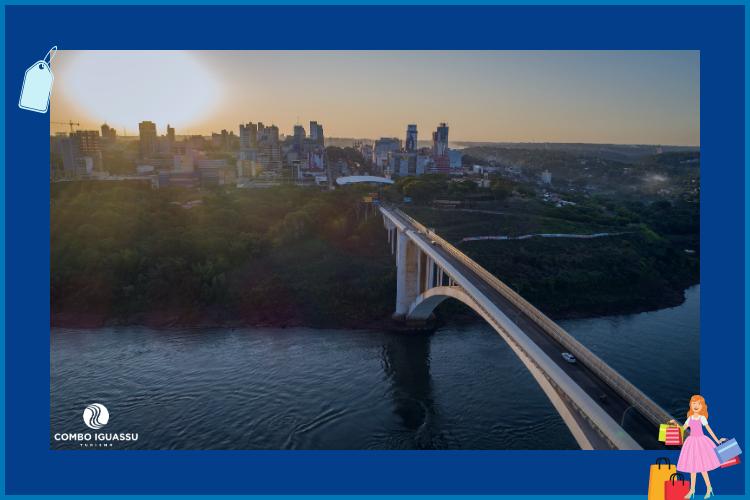 Ponte da Amizade | Compras no Paraguai | Loja iShop