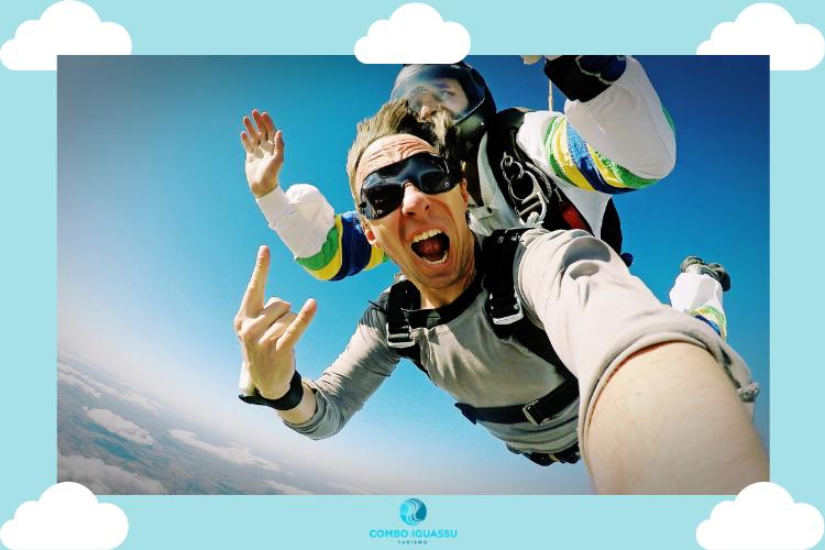 Salto de Paraquedas   Fly Foz Paraquedismo promove evento gratuito na cidade