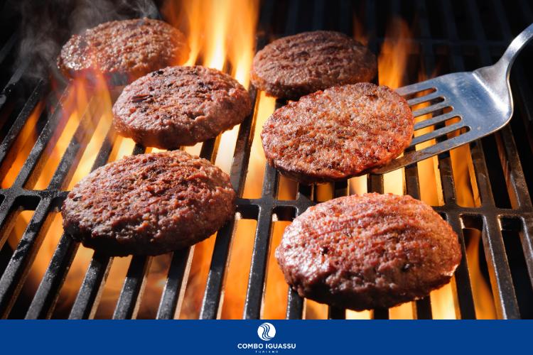 6 hambúrgueres na brasa   Lanchonetes em Foz do Iguaçu - Melhores hamburguerias