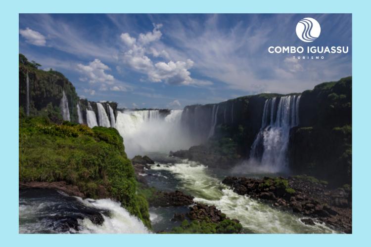 Cataratas do Iguaçu, cascatas