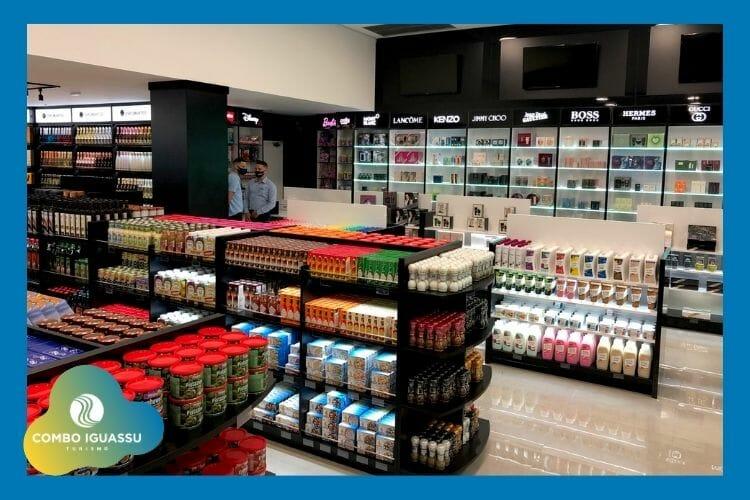 duty free dentro do Shopping Jl