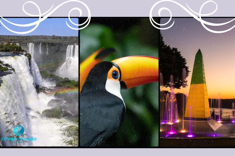 um dos três principais atrativos de Foz do Iguaçu.