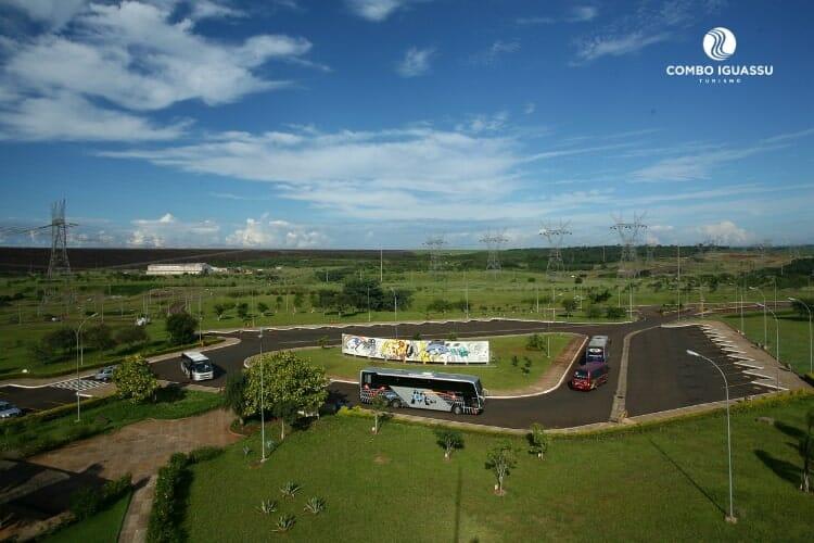 Um dos passeios que verá ao visitar a Itaipu Panorâmica.