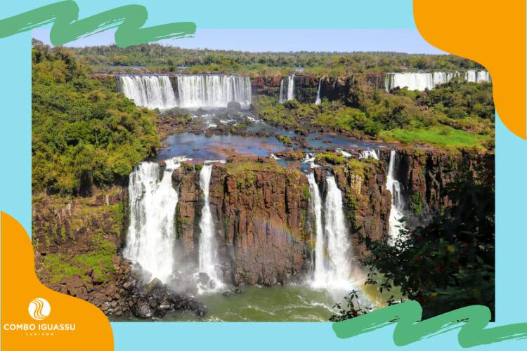 Um dos passeios mais incríveis dentro dos pacotes Foz do Iguaçu que é ofertado, as Cataratas do Iguaçu.