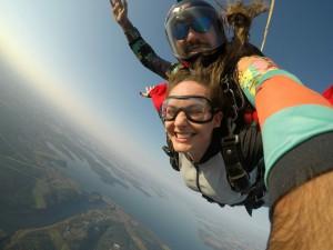 Fly foz Paraquedismo - Salto Selfie