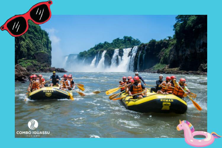 Um passeio inédito onde se molha muito, o Macuco Safari, localizado dentro do Parque Nacional das Cataratas do Iguaçu.