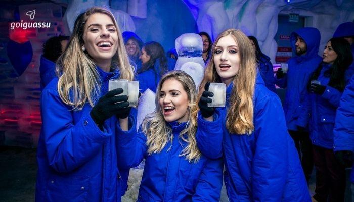 Foz do Iguaçu com a Família ice bar