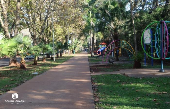 Centro de Foz do Iguaçu av parana