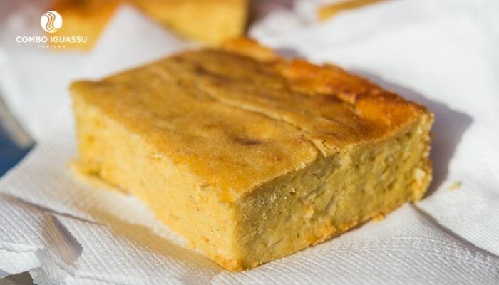 sopa paraguaia comidas do paraguai